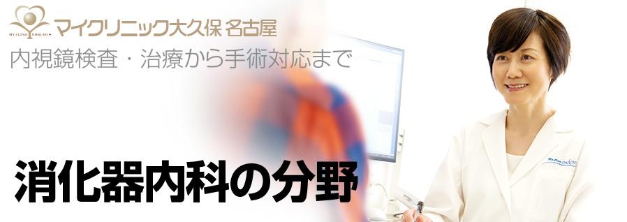 マイクリニック大久保 名古屋の消化器内科の分野